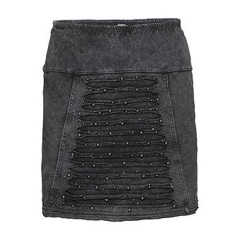 onlineshop tredy fashion rock mit loch optik und perlen magnet stonewashed. Black Bedroom Furniture Sets. Home Design Ideas