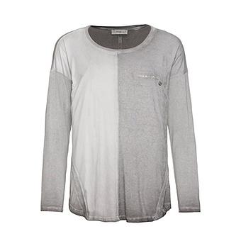 Shirt mit Wildleder-Optik, eiffelturm