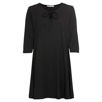 COSY Kleid mit Cut-Out, schwarz