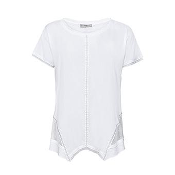 Basic Shirt Cotton / Viskose, weiss