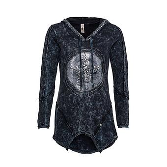 Sweat-Shirt mit Stern-Design, night