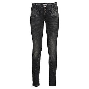 Sweat-Jeans mit Galonstreifen 80cm, dark grey