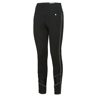 Leggings mit Leder-Optik 70cm, schwarz