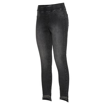 Jeggings mit Nieten 70cm, dark grey
