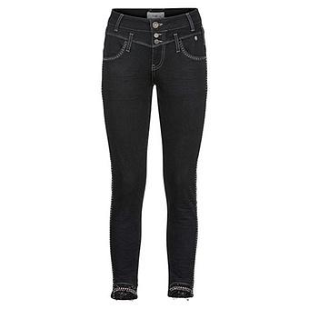 Sweat-Hose mit Nieten 68cm, schwarz