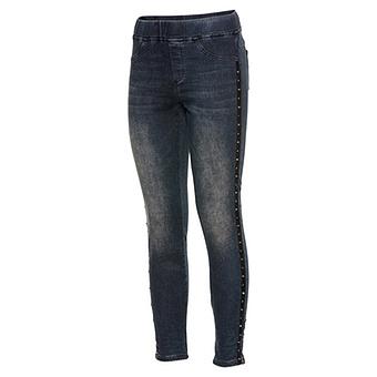 Jeggings mit Nieten 72cm, dark blue