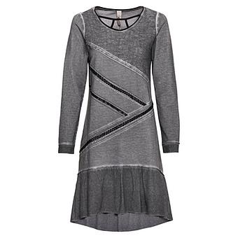Kleid mit geflochtenen Bändern, eiffelturm