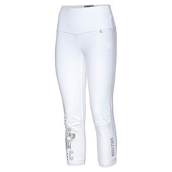 Baumwoll-Leggings 55cm, weiß