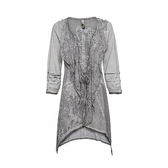 Shirt-Jacke mit Animal-Design, eiffelturm