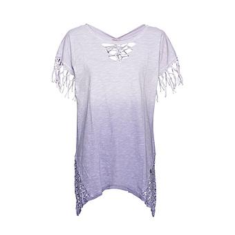 ONLINE EXKLUSIV: Shirt mit Fransen, lilac