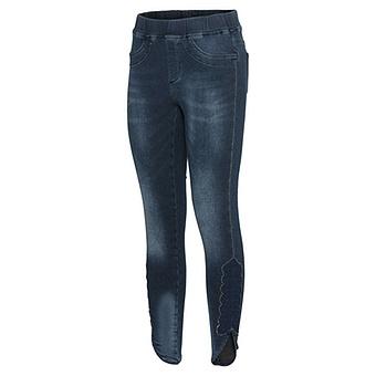 Jeggings mit Spitzen-Patch 68cm, dark blue