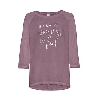 Shirt mit Schriftzug, provence