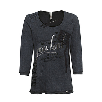 Shirt mit Patches, magnet