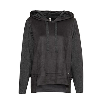 COSY Pullover in Suede-Optik, magnet