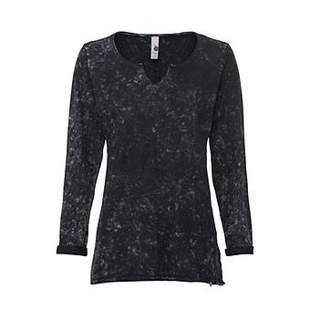 COSY Shirt mit V-Ausschnitt, magnet