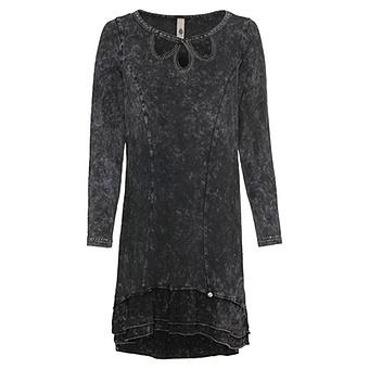 Kleid mit Volants, magnet