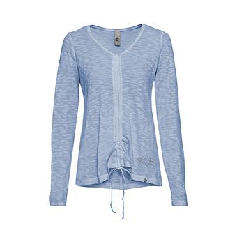 Shirt mit Glitzersteinen, eiskristall