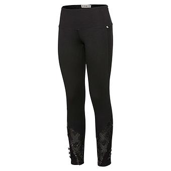 COSY Leggings mit Netz 68cm, schwarz