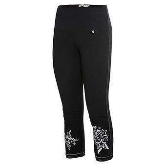 Leggings mit Stern, schwarz
