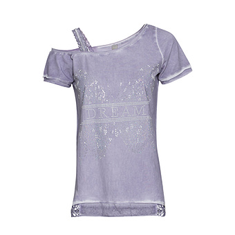 ONLINE EXKLUSIV: Shirt mit Cut-Outs, lilac