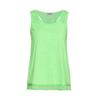 Top mit Netz, green glow