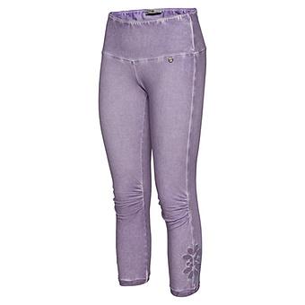 Leggings mit Lochstruktur, lilac