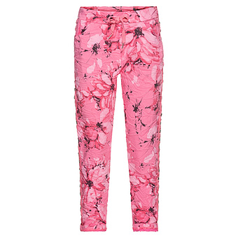 COSY Hose im Alloverprint, pink glow
