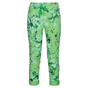 COSY Hose im Alloverprint, green glow