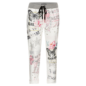 COSY Pant Schmetterling, offwhite