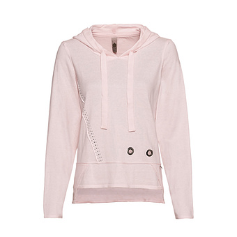 COSY Pullover mit Ösen, mandelblüte