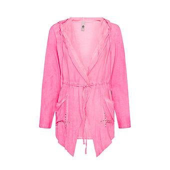 Jacke mit offener Front, pink glow