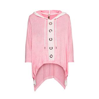 COSY Shirt mit Ösen, pink