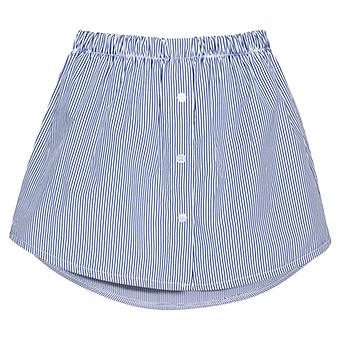 Shirt Extension, weiß-blau