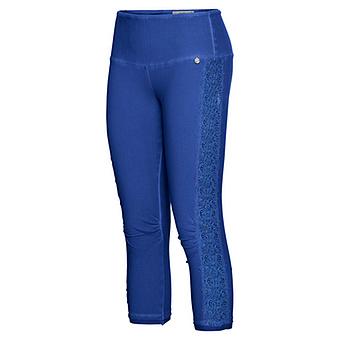 Leggings mit Galonstreifen, blue glow