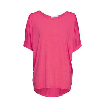 Oversize Shirt, pink glow