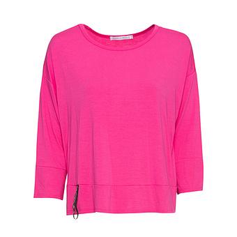 COSY Oversize Shirt Love, pink glow