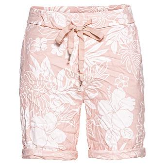 Shorts im floralen Print, pink salt