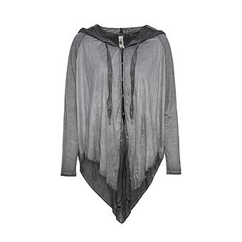 Shirt-Jacke im Cape-Look, magnet