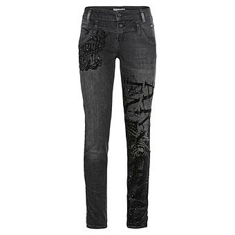 Jeans Doppelbund 76, dark grey