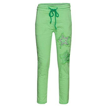COSY Hose mit Stern-Patch, green glow