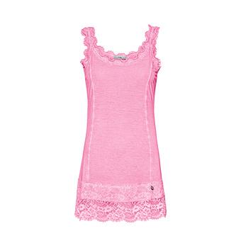 "Basic Top ""ANNA"" Viskose, pink glow"