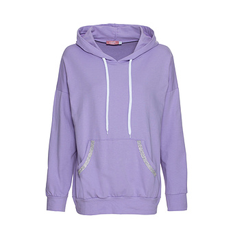 COSY Home-Wear Hoodie, lilac