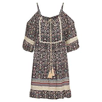 Kleid Millefleur, schwarz