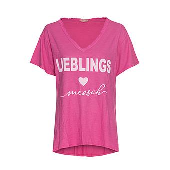 Shirt 'Lieblingsmensch', pink