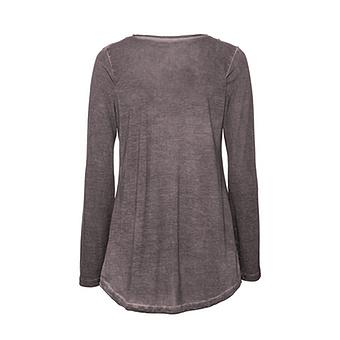 Basic Shirt mit Brusttasche, antikrose