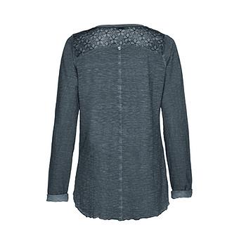 Basic Blusenshirt 76cm, tinte