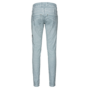 Jeans mit Stern-Optik 80cm, fresh mint