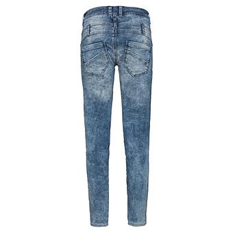 Jeans mit Patches 72cm, denim