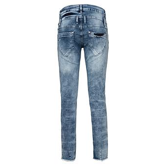 Jeans mit Schmucksteinen 72cm, light blue
