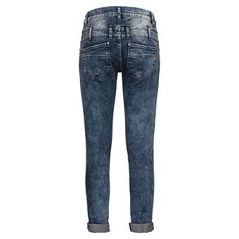 Jeans mit Denim-Patches 72cm, denim